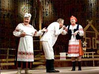Спектакль, Жениться - не печалится, Ажаніцца - не журыцца