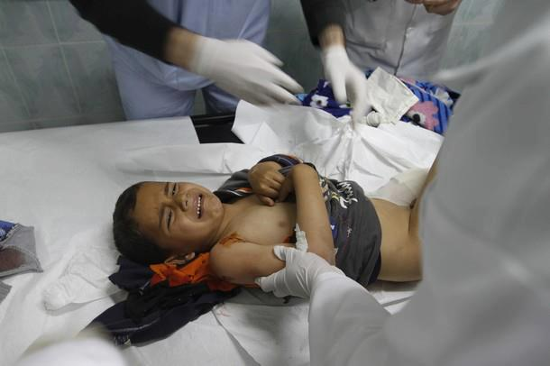 Imagens fortes-atenção- crimes de Israel - foto 2