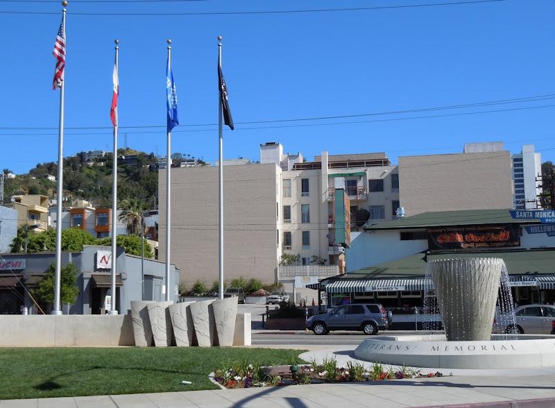 West Hollywood Veterans' Memorial Fountain