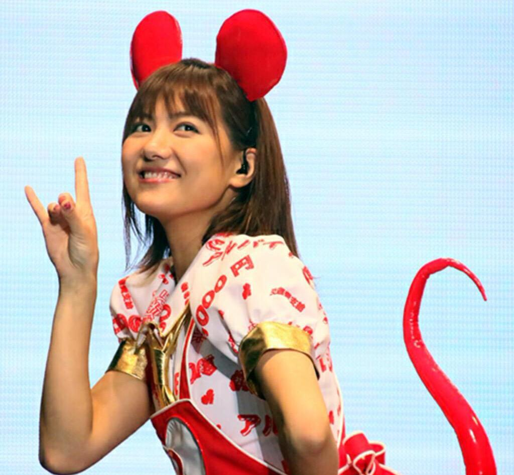 バイトルのマウスに扮するAKB48時代の宮澤佐江