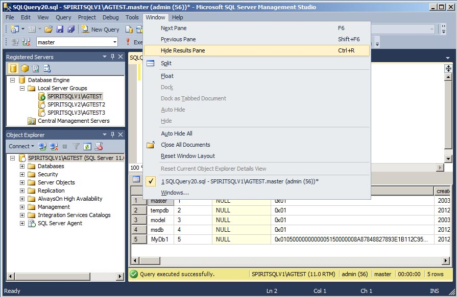 Everyday Sql Customize The Management Studio Toolbar