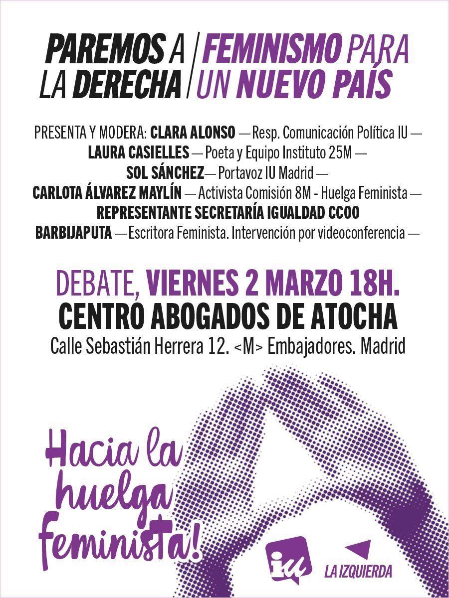 2 Marzo 2018 #HaciaLaHuelgaFeminista