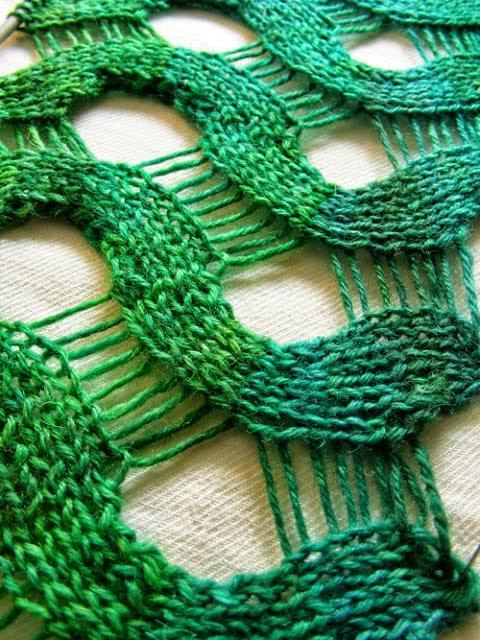 Punto ondas calado con dos agujas - paso a paso | Crochet y Dos agujas