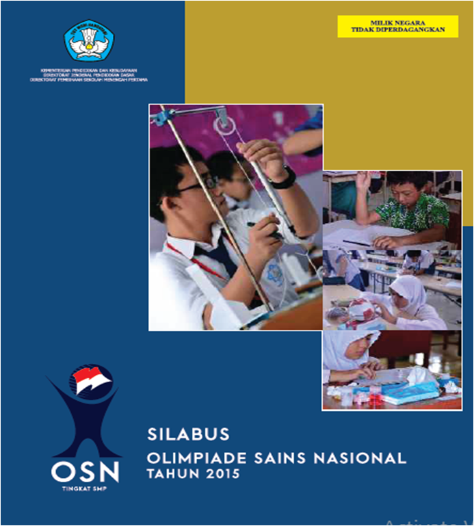 Blog Ilmu Matematika Silabus Olimpiade Sains Smp 2015 Oleh Yoyo Apriyanto Phone 085337633121