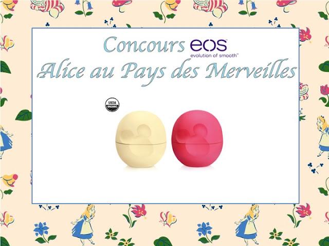 EOS Alice Wonderland Pays Merveille lip balm baume lèvre