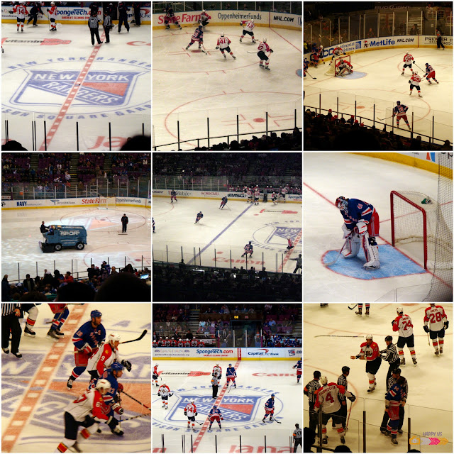 Madison Square Garden - Match hockey Rangers