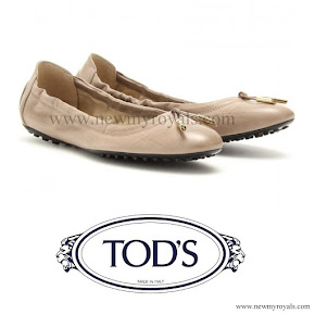 Crown Princess Victoria TOD'S Flats Ballerinas