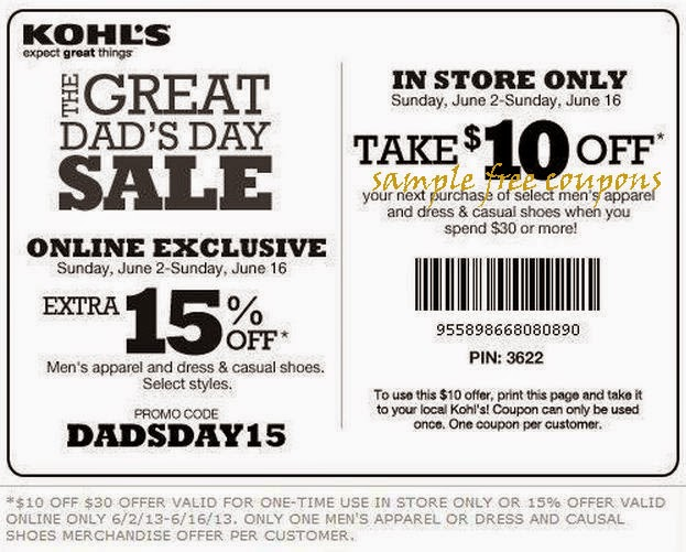 Kohls discount coupon in store