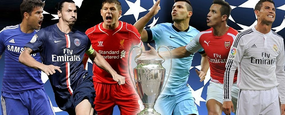 champions league match dates 2014 15