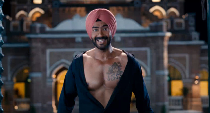 Ajay Devgn In Son of Sardar
