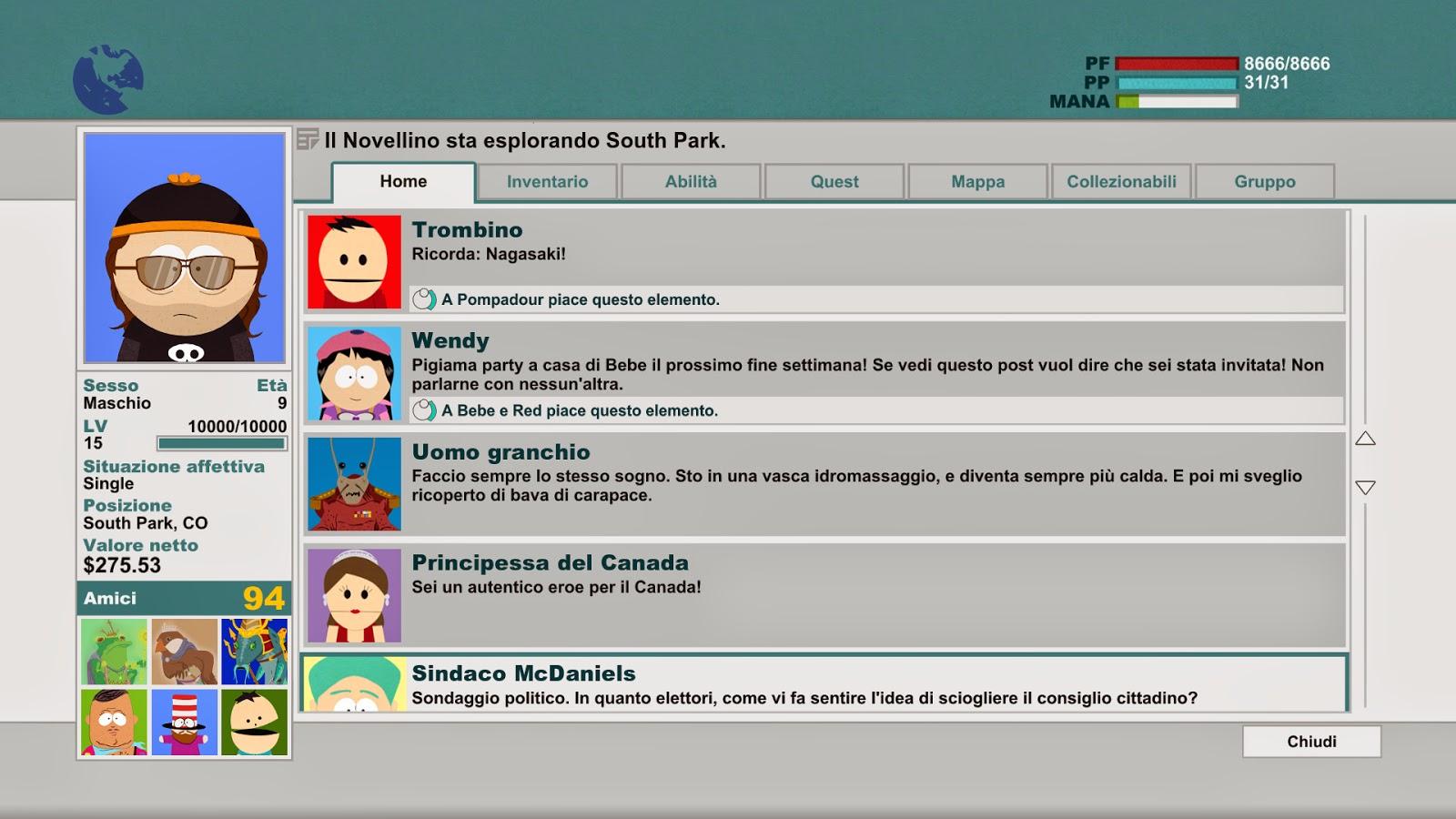 South Park Xab