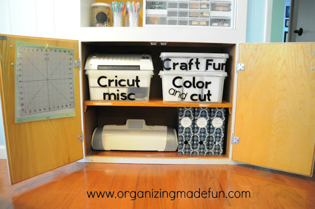 Organizing Crafts Cricut machine