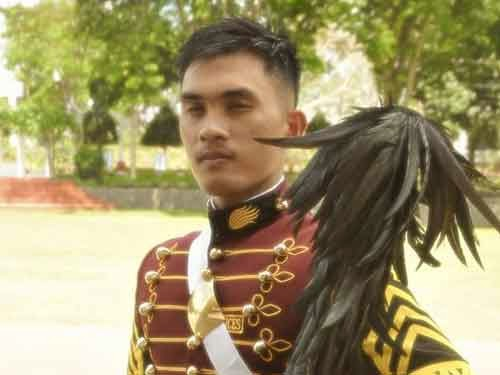 2014 PNPA valedictorian Police Cadet Glenn Tabo Santelices