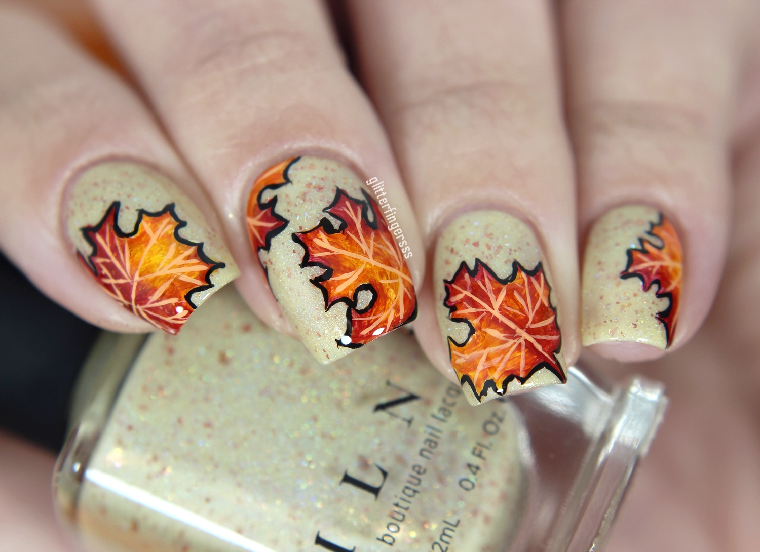 Autumn leaves ~ Glitterfingersss in english