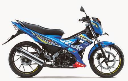gambar satria fu150 MotoGP edition 2015