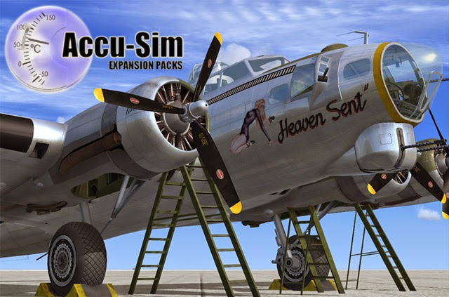 Download AccuSim B-17 #FSX - FS Nusantara
