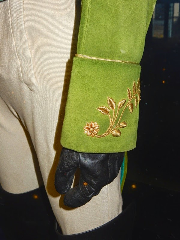 Cinderella Prince Charming costume embroidered cuff