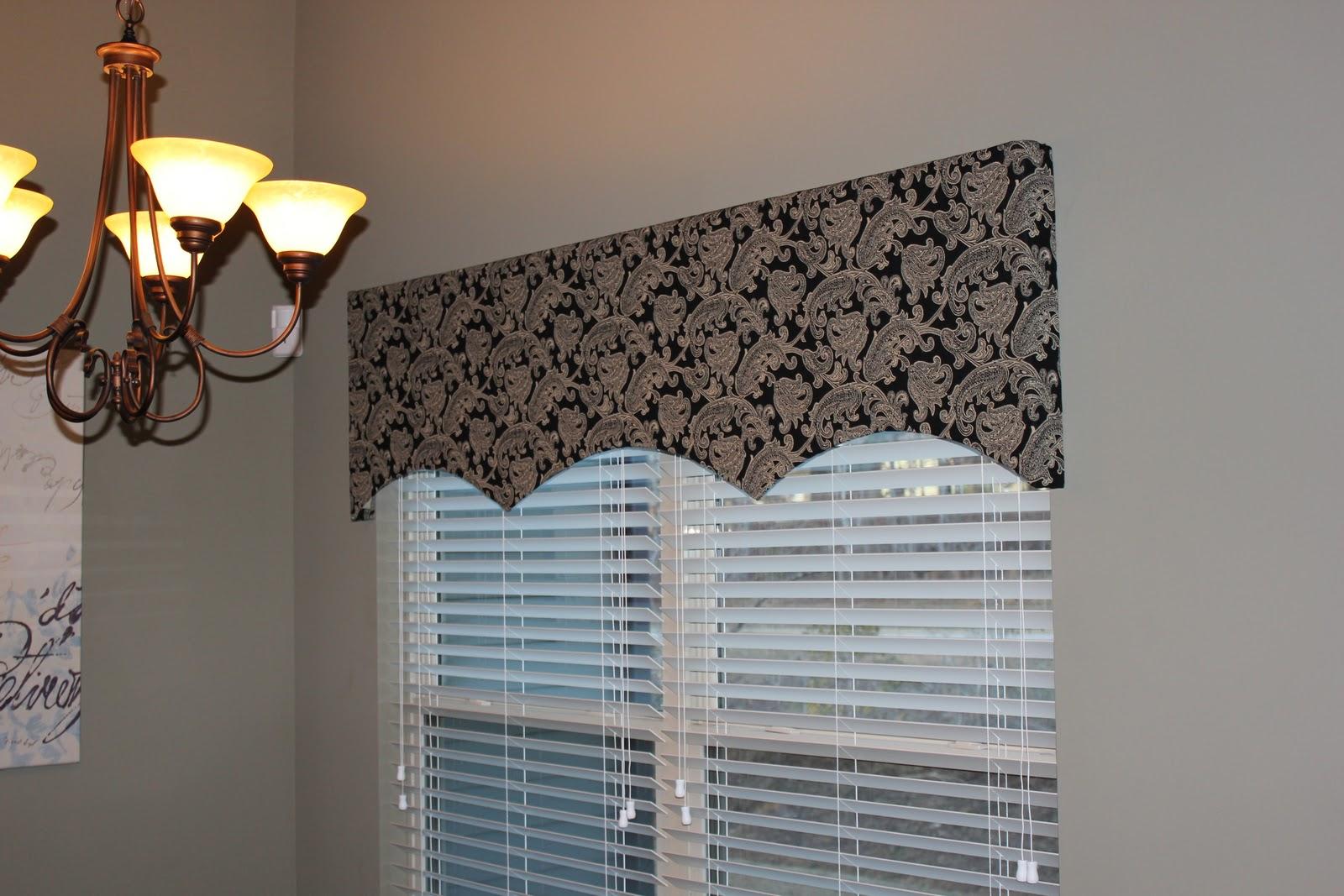 The Modern Day Momma: Simple DIY Window Valance