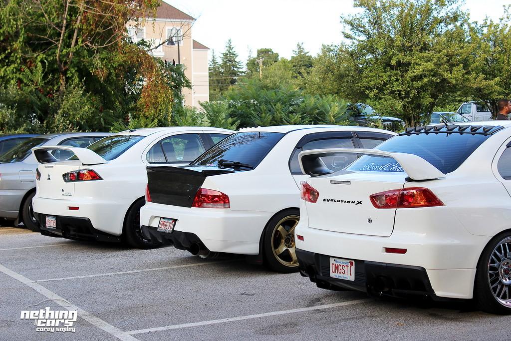 Mitsubishi Lancer Evolution, szybki sedan, japoński samochód, biały, kultowy, fotki, tuning, jdm