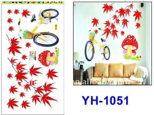 wall sticker butik: wall sticker yogyakarta