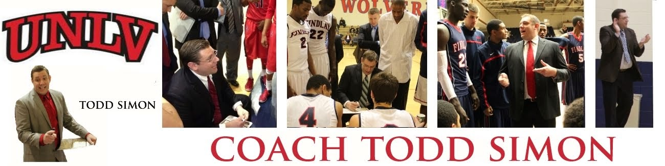 Coach Todd Simon's Coaching Notes