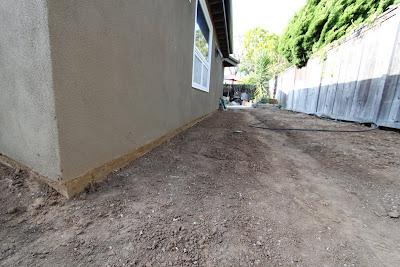 landscape after construction