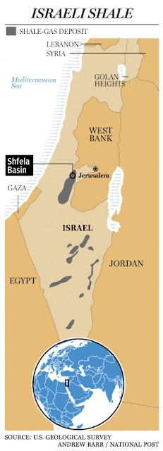 israel shale1 Will Israel take over the energy market?elder of ziyon