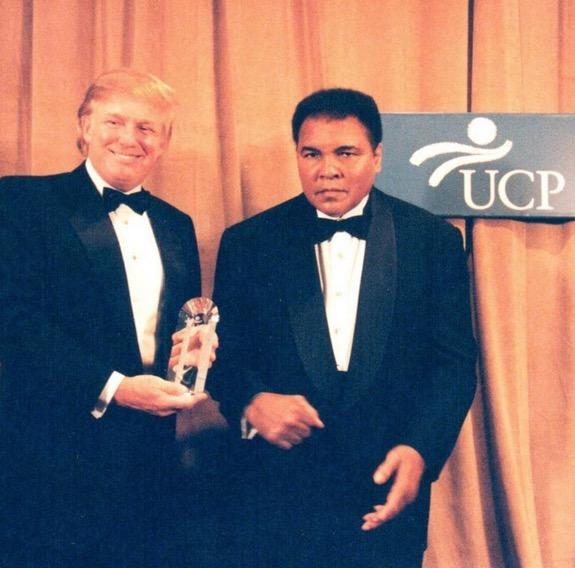 Muhammad Ali 'belasah' Donald Trump