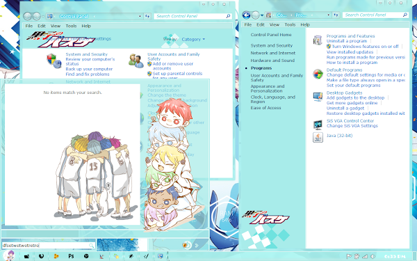 Theme Kiseki No Sedai Kuroko No Basket [Windows 7 ] 5