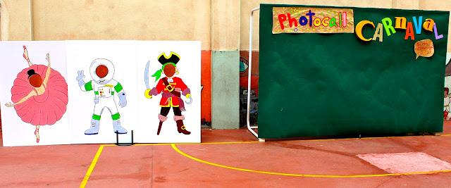 Photocall en el colegio SESI de Madrid