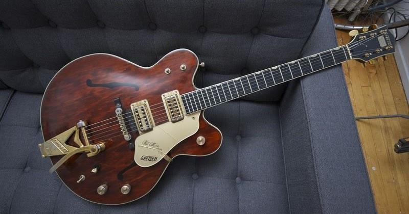 Gretsch Country Gentleman 1965 Walnut Guitar For Sale