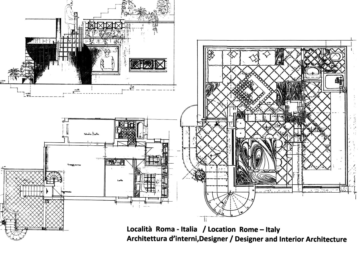 Architettura a modo mio architettura d 39 interni roma - Arredatori d interni roma ...