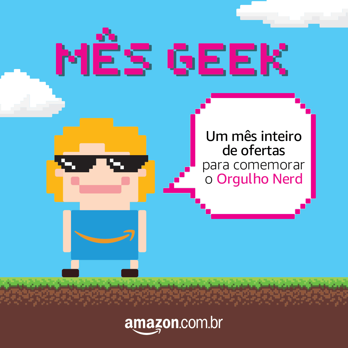 Mês Geek Amazon