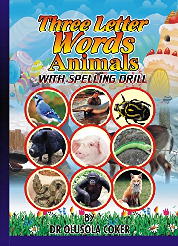 Three Letter Word Animals With Pictures: Spelling Drill