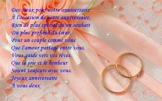 Lettre de félicitation pour un mariage