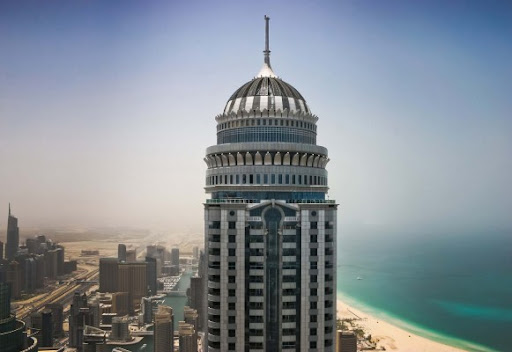 Princess Tower Full Sea Palm View Dubai ArabEmirates