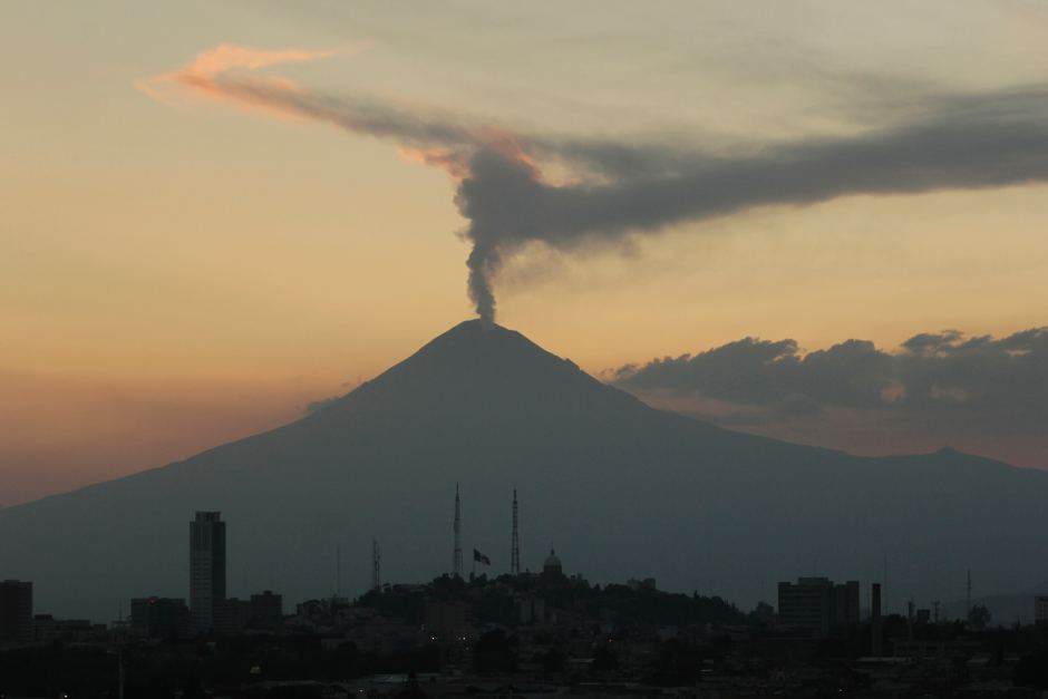 Pavlof volcano Alaska: The Popocatepetl volcano Mexico: And Sakurajima volcano in South Japan....