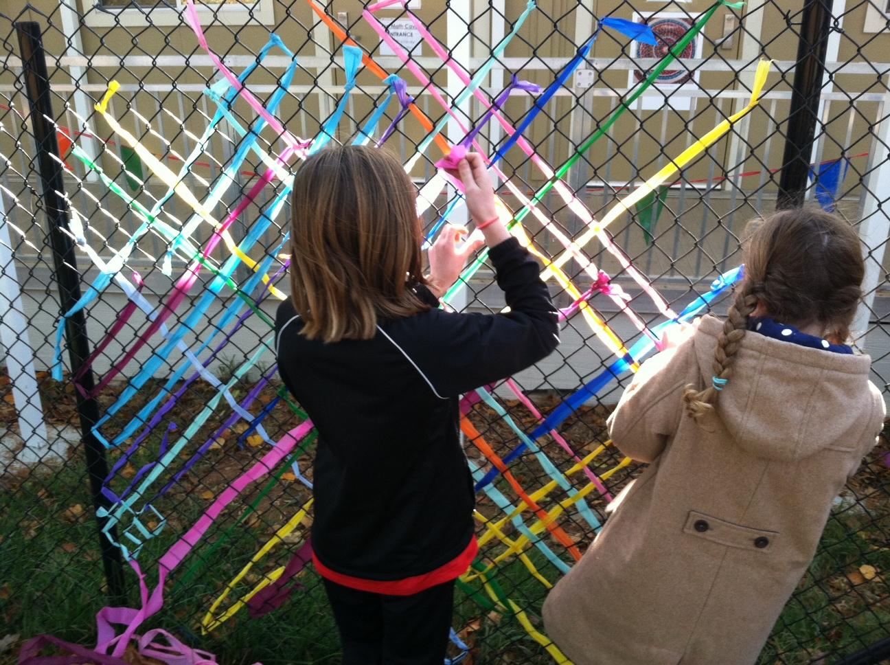 Fence Art Installation Fence Art Installation K Nongzico