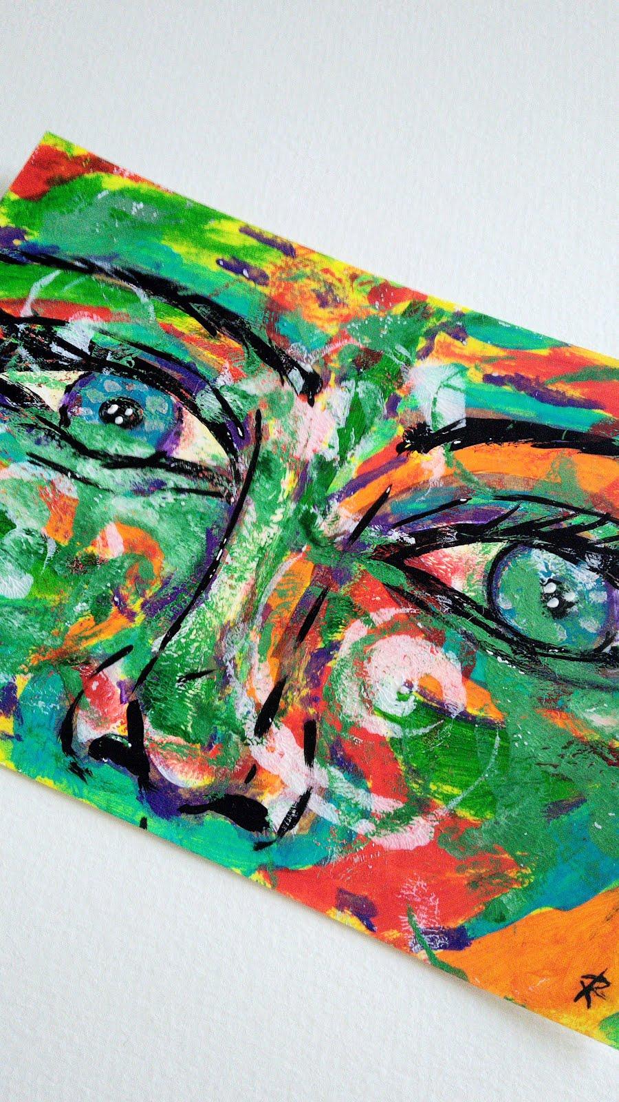 Algumas das minhas pinturas