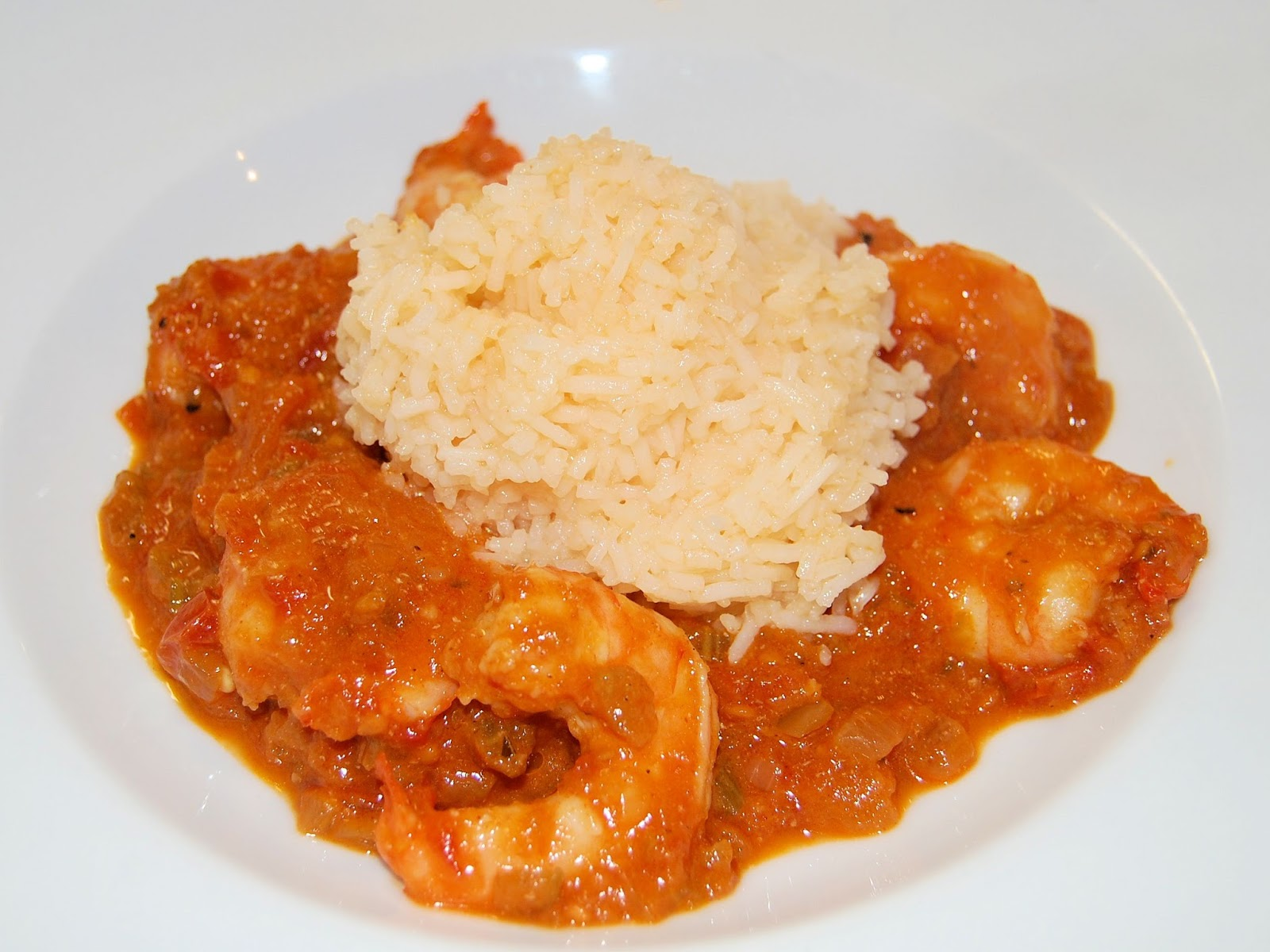 Tasteful Creole Sauce and Shrimp | We Like to Cook!