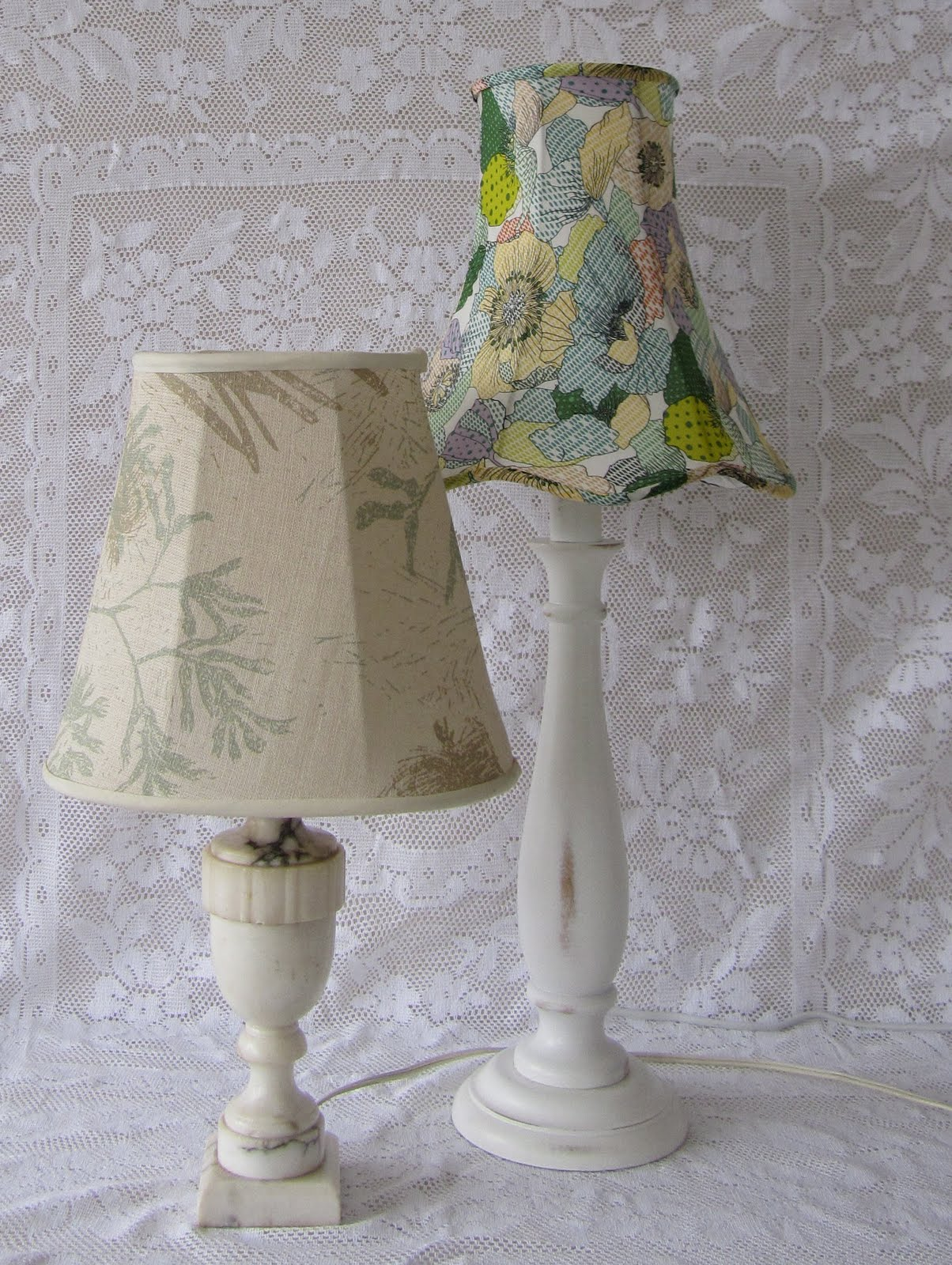 Small things simple pleasures how to recover a lampshade tutorial the other one i made a while ago but have included to give you an indication of different shapes and trims greentooth Gallery