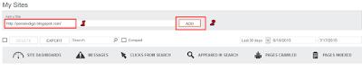 add situs ke Bing Webmaster Tools