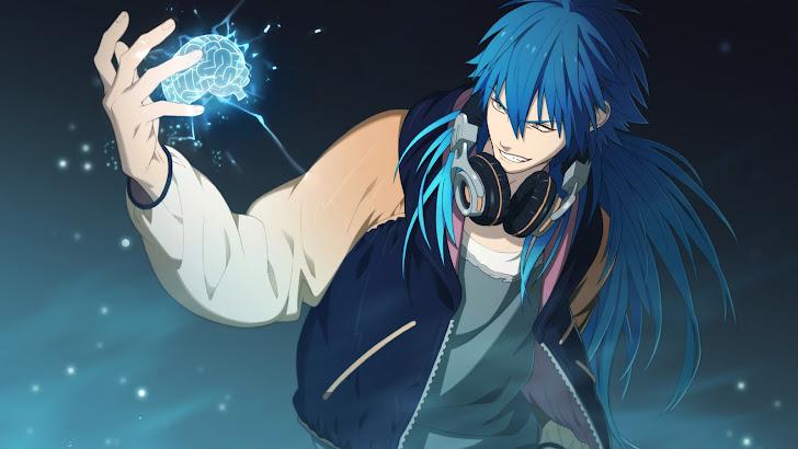 Anime Boy Headphone Aoba