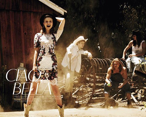 Bella Heathcote Covers Vogue Australia September 2012 » Gossip | Bella Heathcote