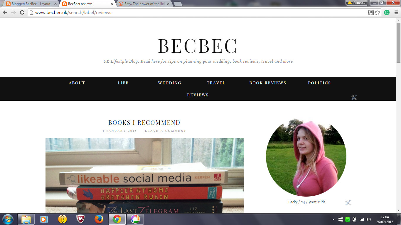 blogger archives
