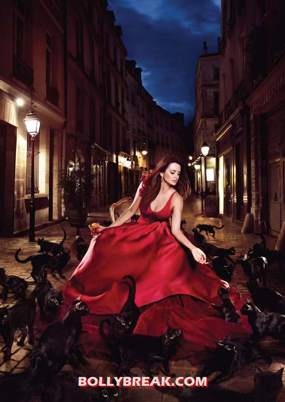 Penelope Cruz for Campari - (2) - Penelope Cruz sexy Campari Calendar