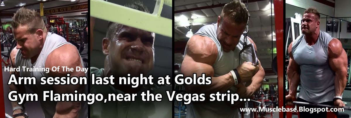 Jay Cutler Arms Workout Jay Cutler Arm Training