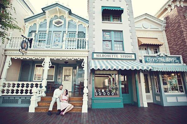 Day After Wedding Photo Shoot at Disneyland