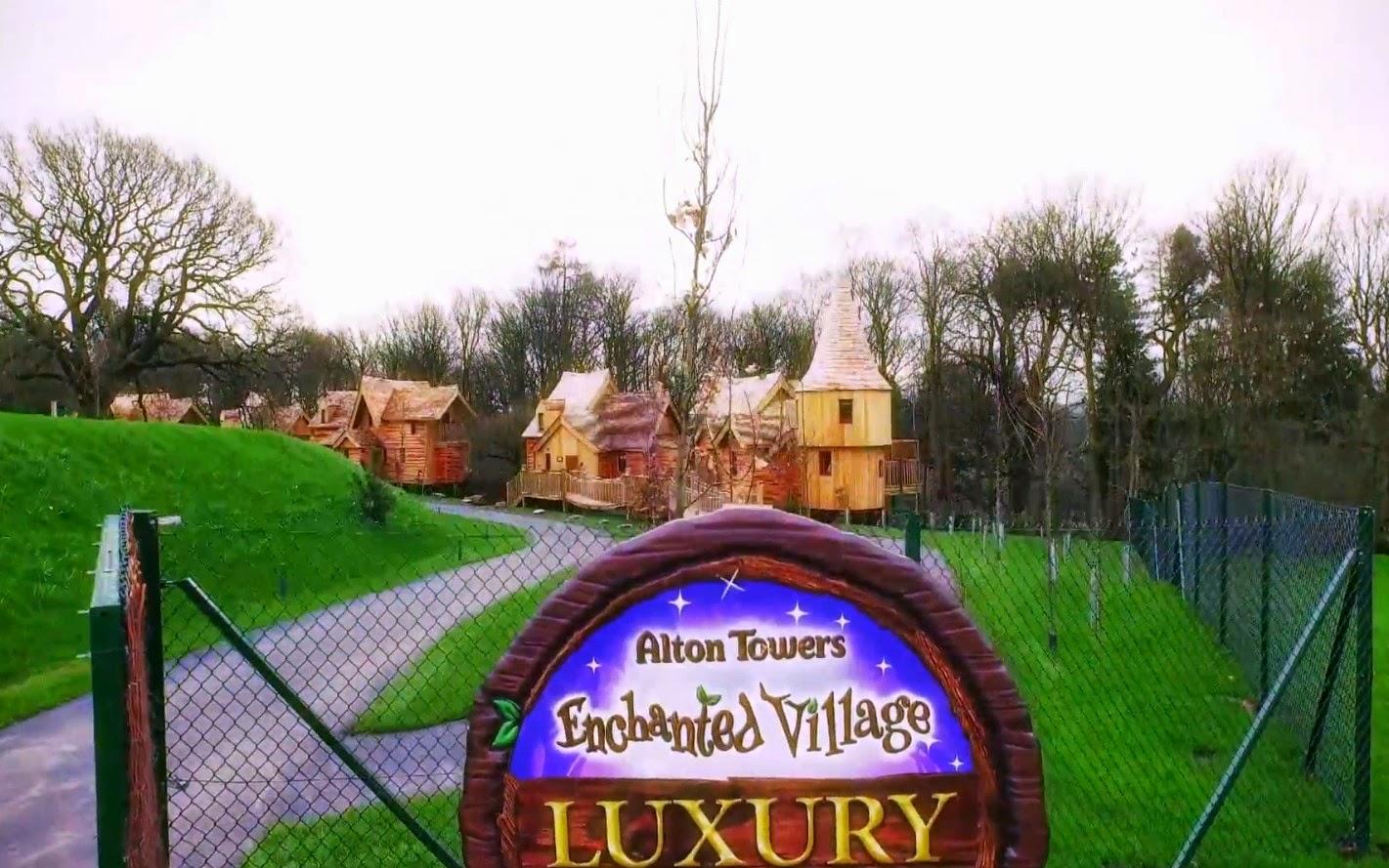 PARKS Trip: Alton Towers : Le Village Enchantu00e9 se pru00e9sente ...