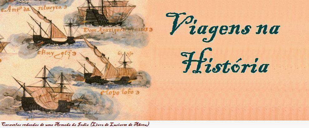 viagens na historia
